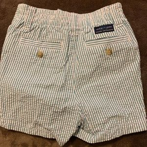 Boys shorts and button up shirt